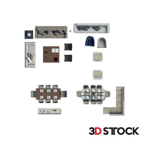 2d Livingroom Set_4